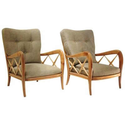 Pair of Armchairs by Ulrich Guglielmo, 1960s
