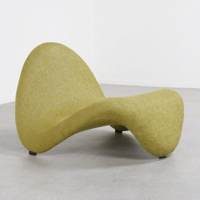Vintage 'Tongue' lounge chair by Pierre Paulin for Artifort, 1967