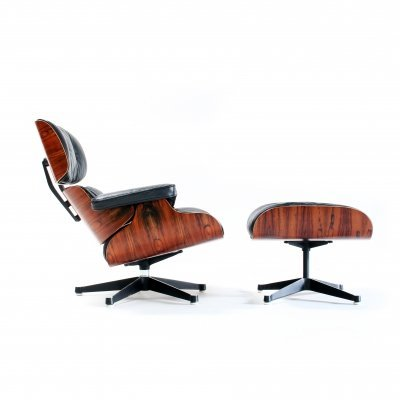 Lounge chair by Charles & Ray Eames for Mobilier International, 1970s