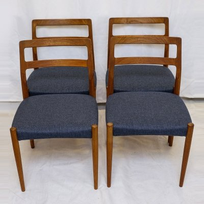 Set of 4 'Anne' Dining Chairs by Johannes Andersen for Uldum