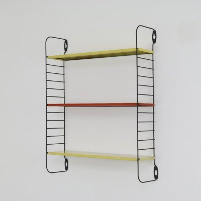 Small 'Pocket series' wall unit by D. Dekker for Tomado, 1950s