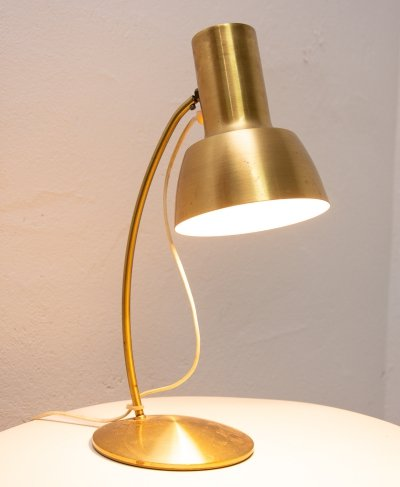Mid century table lamp, Czechoslovakia 1960s