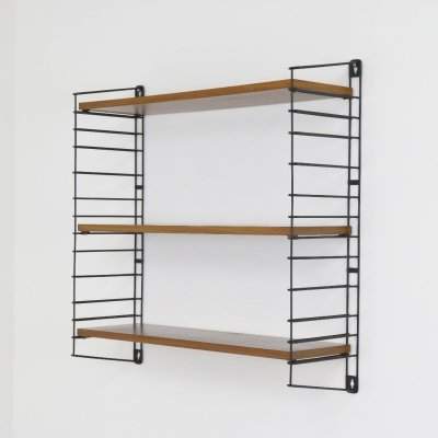 Teak wall unit by A. Dekker & D. Dekker for Tomado