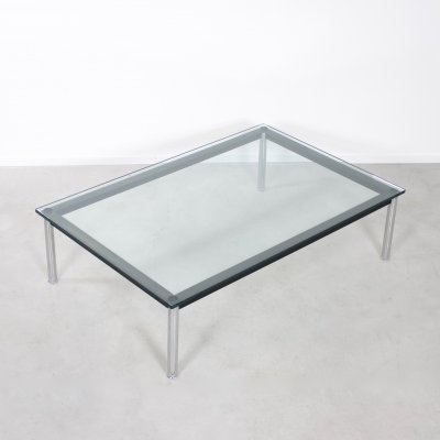 LC10 coffee table by Le Corbusier for Cassina, 1970s