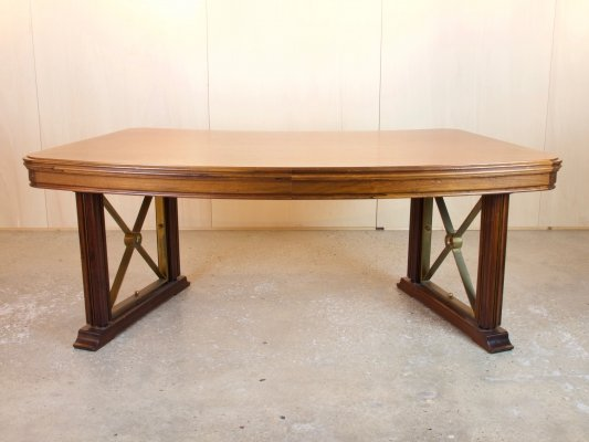 Rosewood writing table with drawers by Frits Adolf Eschauzier, 1930s
