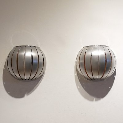 Pair of vintage wall lamps, 1960s