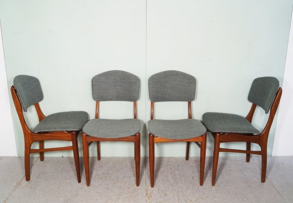 Set of 4 Pynock dining chairs, 1960's