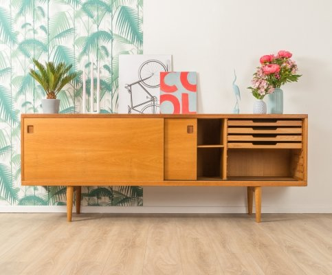 Oak sideboard Model 20 by Niels O. Møller, 1950s