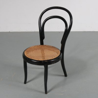 Bentwood kids chair by Michael Thonet for Köhn, Austria, 1900s