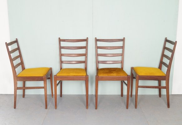 Set of 4 Vintage dining chairs, 1960's