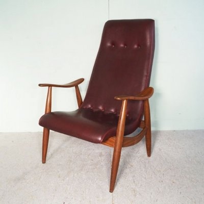 Louis van Teeffelen arm chair, 1950's