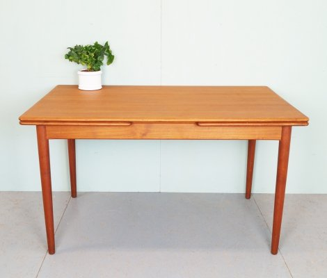 Vintage extendable dining table, 1960's