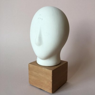 Midcentury Cycladic Head Sculpture