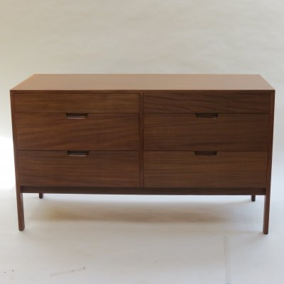 Midcentury Afrormosia Chest of Drawers by Richard Hornby for Fyne Ladye, 1960s