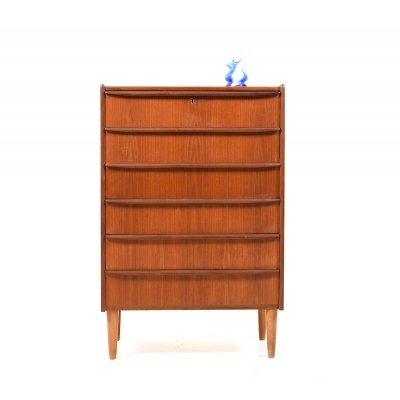 Mid Century Danish Teak Chest of Drawers