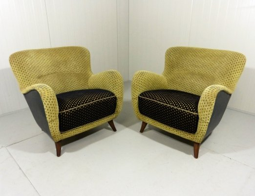 Pair of Easy Chairs, 1950's