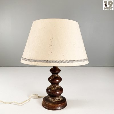 Ceramic table lamp from the 1970's
