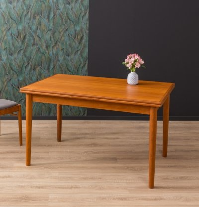 Extendable dining table by Korup Möbel, 1960s