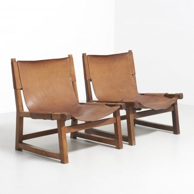 Pair of 'Riaza' hunting chairs by Paco Muñoz