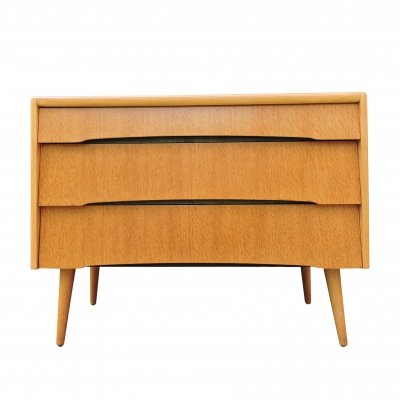 Three Drawer Oak Chest by Avalon Yatton, 1960s
