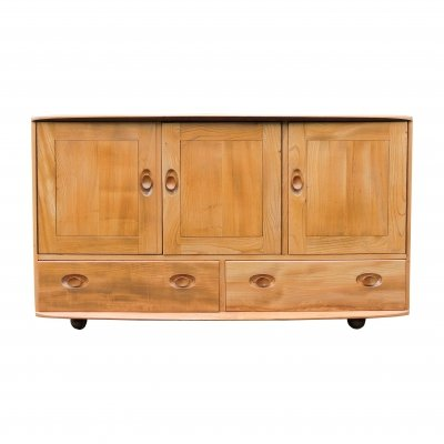 Windsor Model 468 Blonde Sideboard With Drawers by Ercol, 1960s