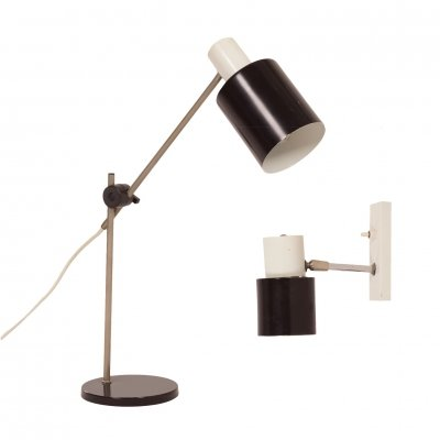 Hala Desk Lamp & Wall Lamp, 1960s
