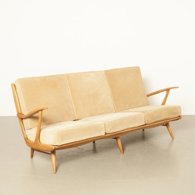 Vintage 3-seater sofa by B. Spuij's