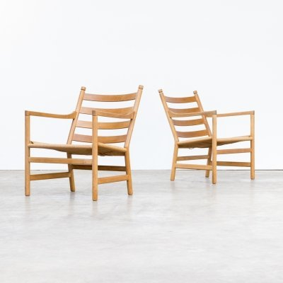 Pair of Hans Wegner 'CH44' chairs for Carl Hansen & Son