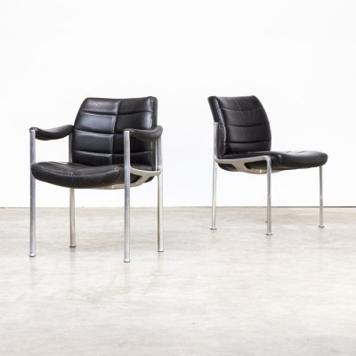 Pair of Miller Borgsen dining chairs for Röder Söhne, 1960s
