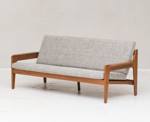 3-seater sofa by Arne Wahl Iversen for Komfort, Denmark 1960s