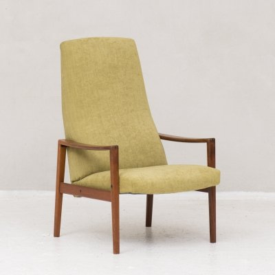 Highback easy chair by Ulferts Fabriker, Sweden 1960's