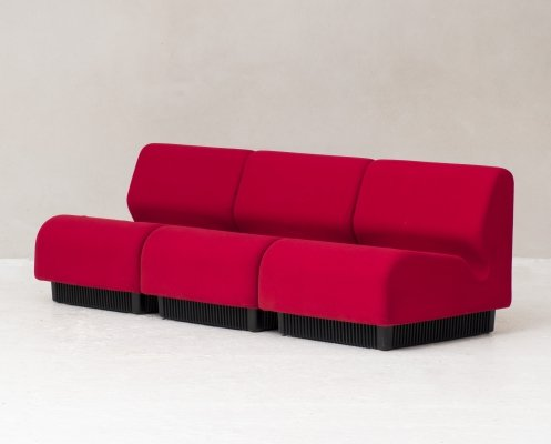 Modular 3-seater sofa by Don Chadwick for Herman Miller, US 1970