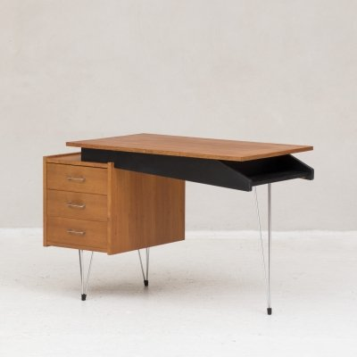 Writing desk by Cees Braakman for Pastoe, Dutch design 1950's