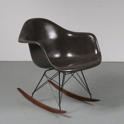 RAR rocking chair by Charles & Ray Eames for Vitra, Germany 1960s