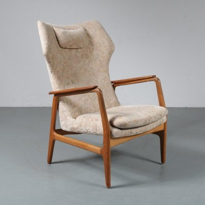 Lounge chair by Aksel Bender Madsen for Bovenkamp, the Netherlands 1950s