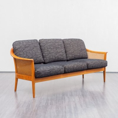 1950s Wilhelm Knoll sofa with Viennese meshwork