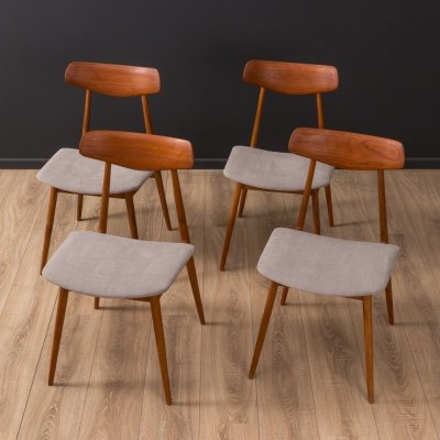 Set of 4 Dining chairs by Habeo, 1950s