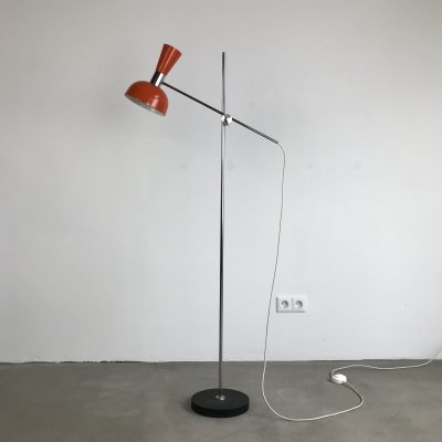 Diabolo Floor Lamp by Herda, Dutch Design 1970s
