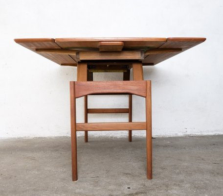 Teak Elevator Table by Niels Bach, 1960s