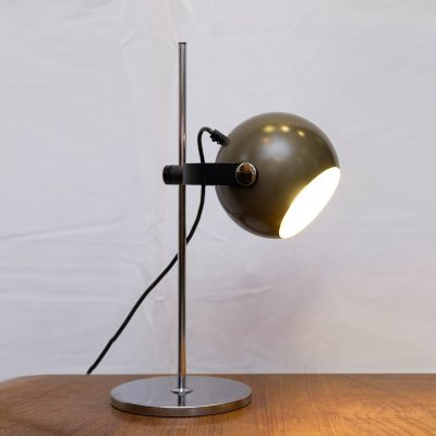 Space Age Desk Lamp by Hoffmeister Leuchten, 1970s