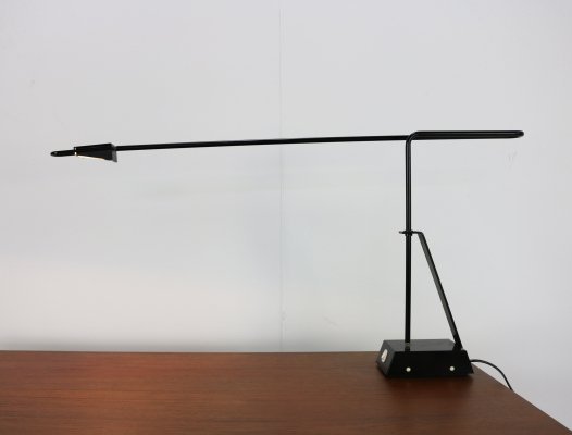 Seventies design desk / table lamp by Dijkstra Lampen