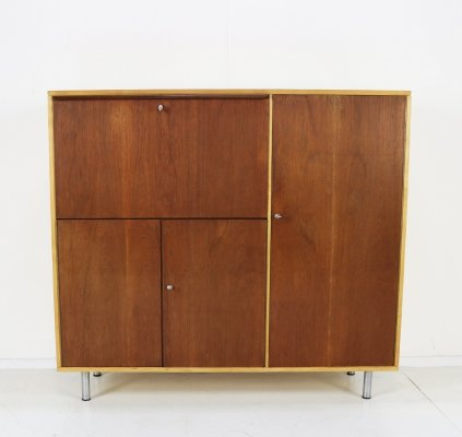 UMS Pastoe secretary storage wall cabinet by Cees Braakman