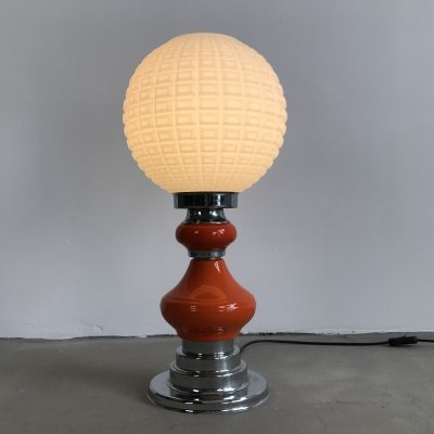 Vintage Funky Space Age Design Table Lamp, 1970s