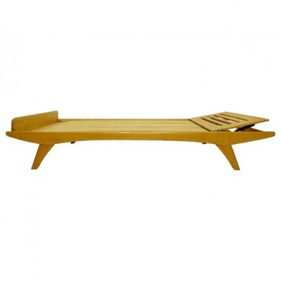 Daybed in Ash Wood by Holma, Sweden 1960s