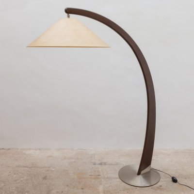 Arch-shaped floor lamp by Natuzzi Salotti, 1990s