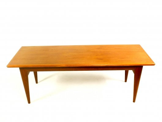 Teak Coffee Table by Niels Møller for J.L. Møller, 1960s