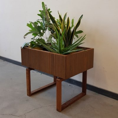Danish Teak Planter by Kai Kristiansen for Salin Mobler, 1960s