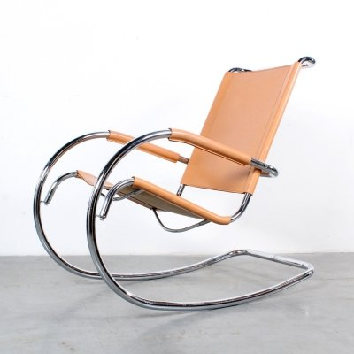 Bauhaus rocking chair, 1980s