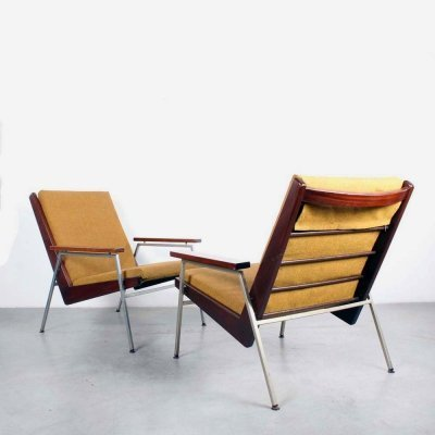 Pair of Lotus lounge chairs by Rob Parry for Gelderland, 1960s