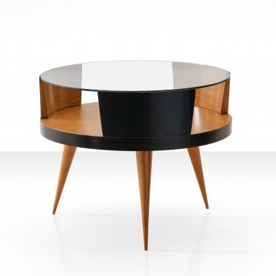 Carlo Hauner & Martin Eisler Coffee Table in Caviuna Wood, Brazil 1960s